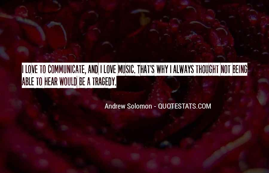 Solomon Love Quotes #353920