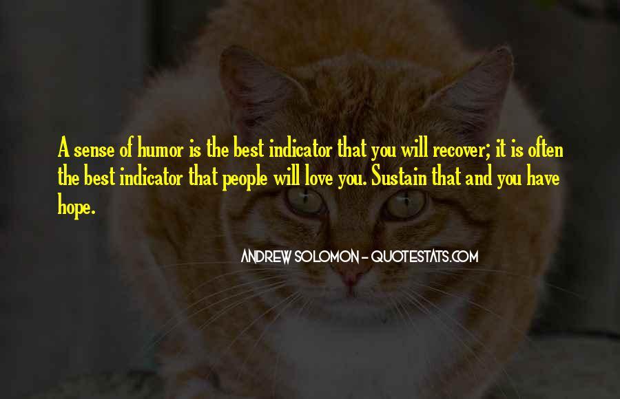 Solomon Love Quotes #364255