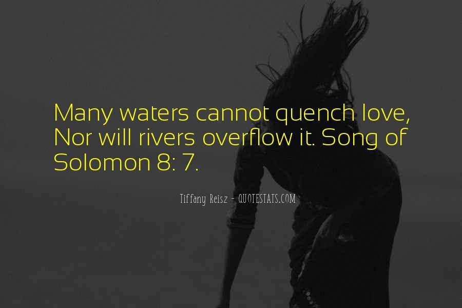 Solomon Love Quotes #392085