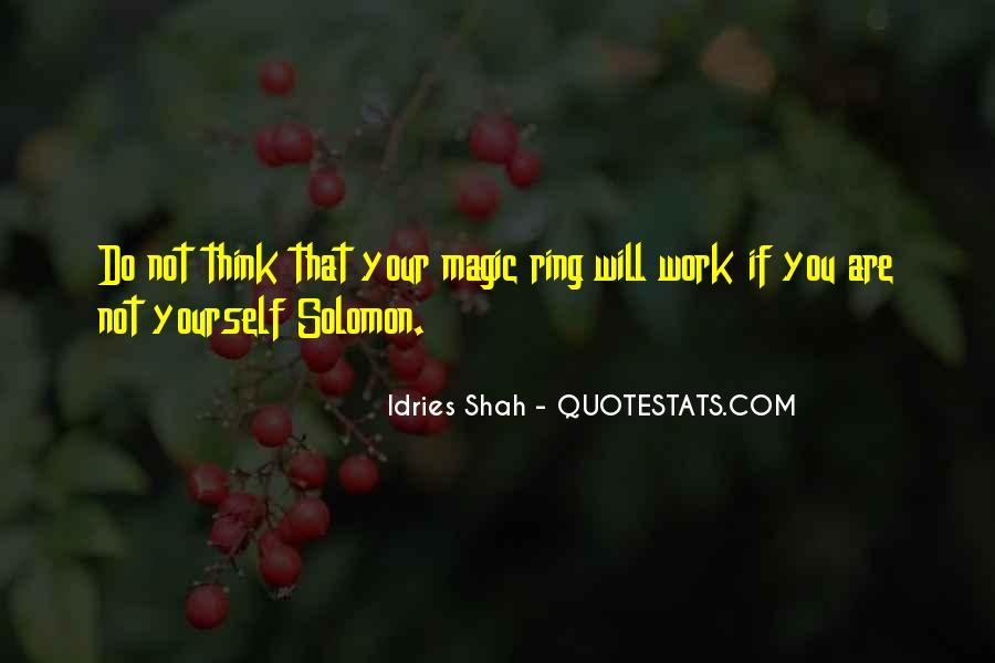 Solomon Love Quotes #454291