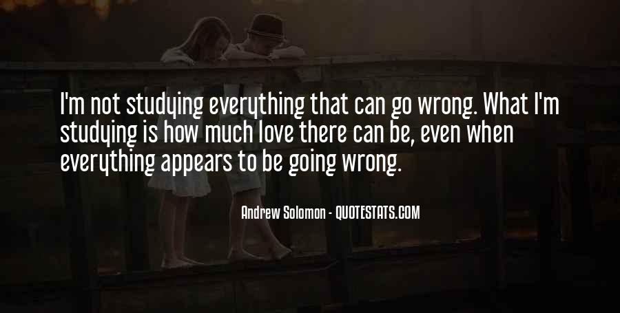 Solomon Love Quotes #50436