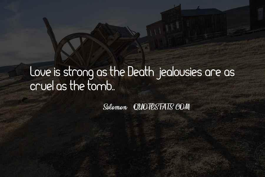 Solomon Love Quotes #55630