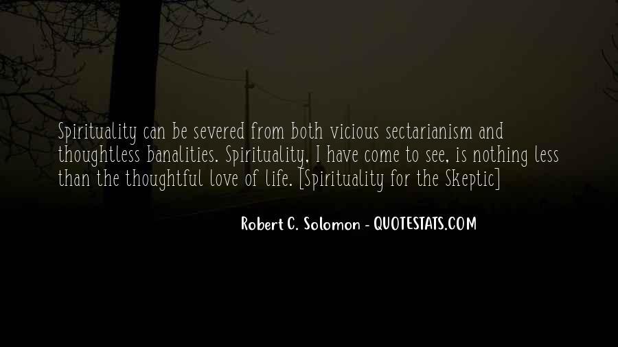 Solomon Love Quotes #613920