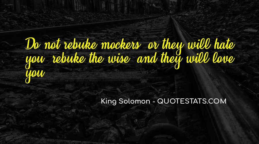 Solomon Love Quotes #921131