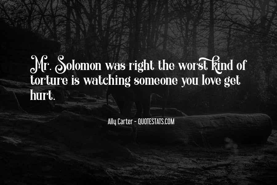 Solomon Love Quotes #946300