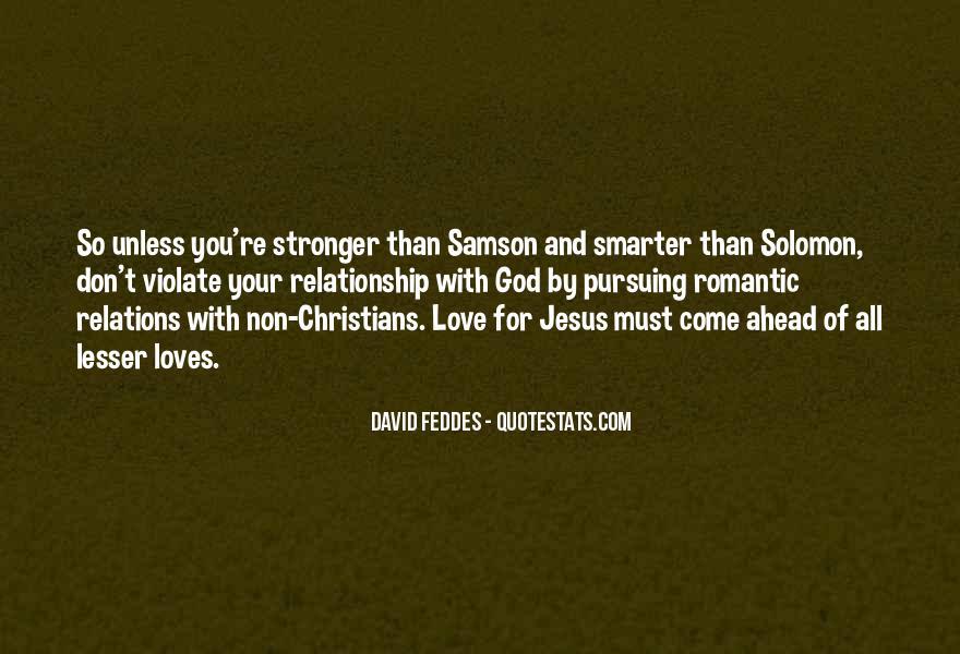 Solomon Love Quotes #967054