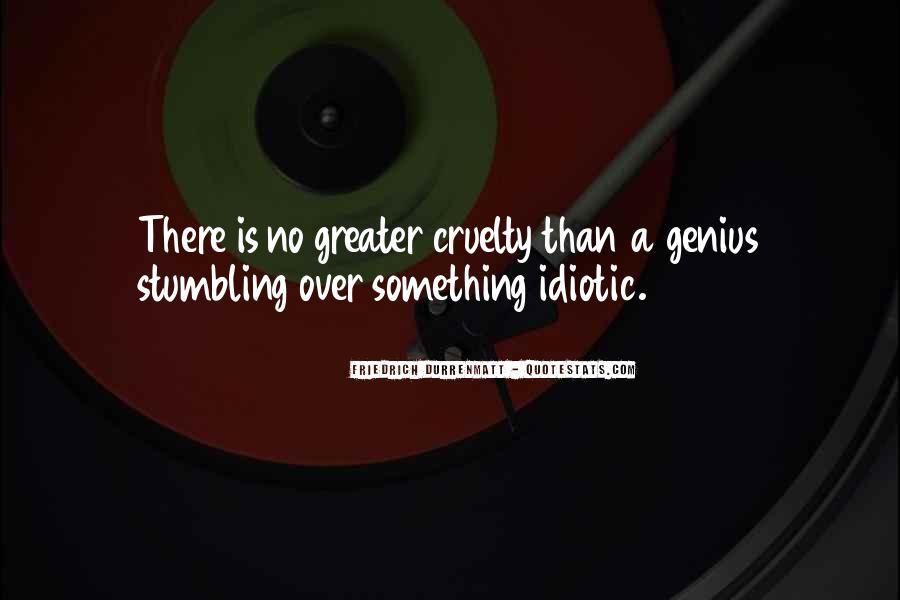 Some Idiotic Quotes #122887