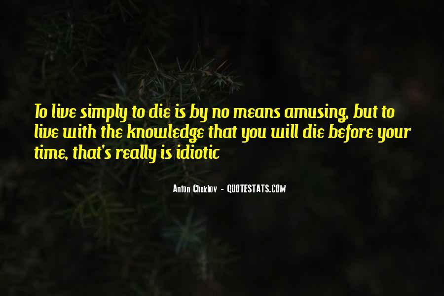 Some Idiotic Quotes #136864
