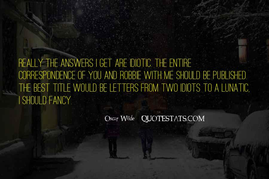 Some Idiotic Quotes #183564