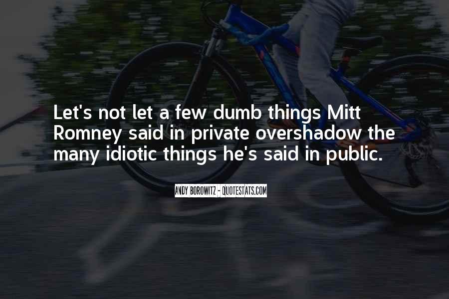 Some Idiotic Quotes #212823