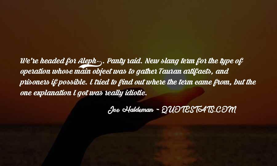 Some Idiotic Quotes #413505