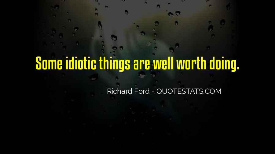 Some Idiotic Quotes #456560