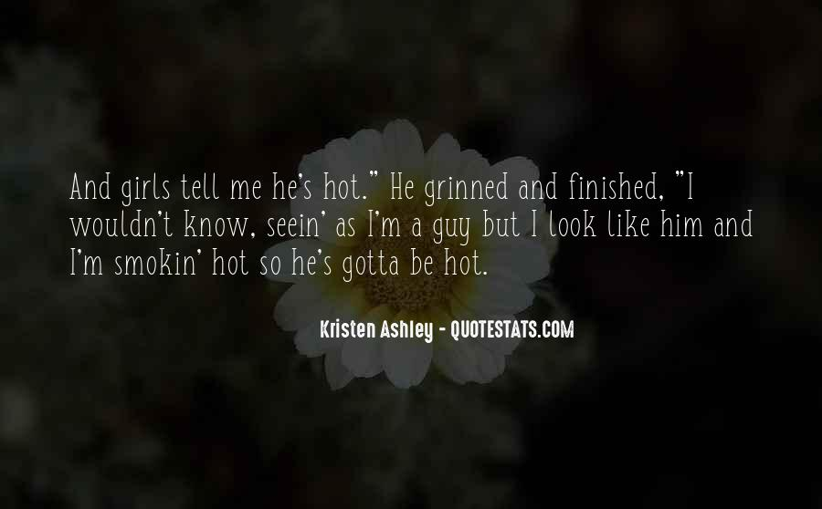 Somebody Tell Me Why Quotes #1207