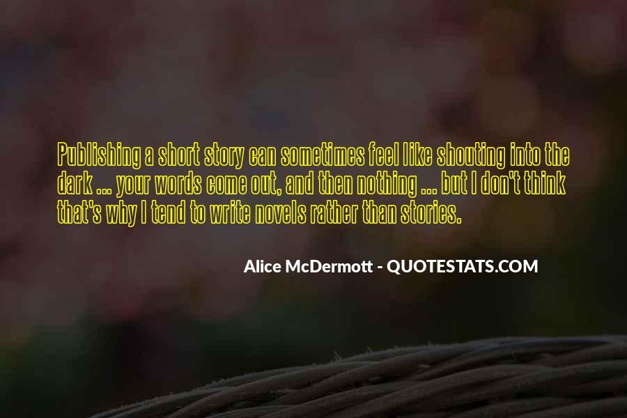 Someone Alice Mcdermott Quotes #144166