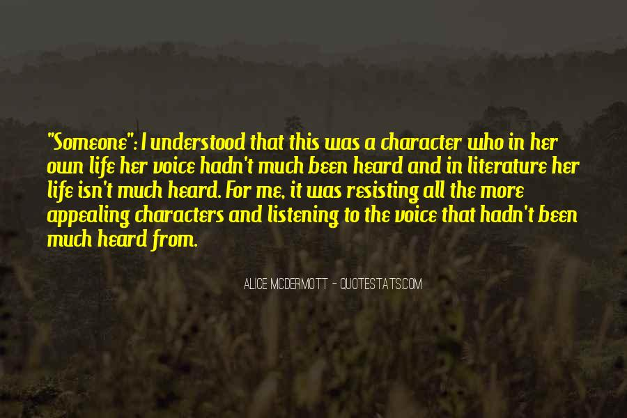 Someone Alice Mcdermott Quotes #484866