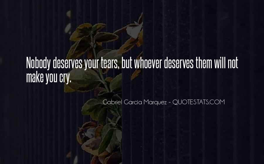 Someone Make Me Cry Quotes #54006
