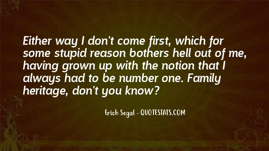 Quotes About Stupid Family #461741