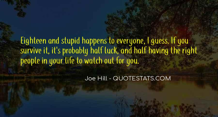 Quotes About Stupid Family #606834