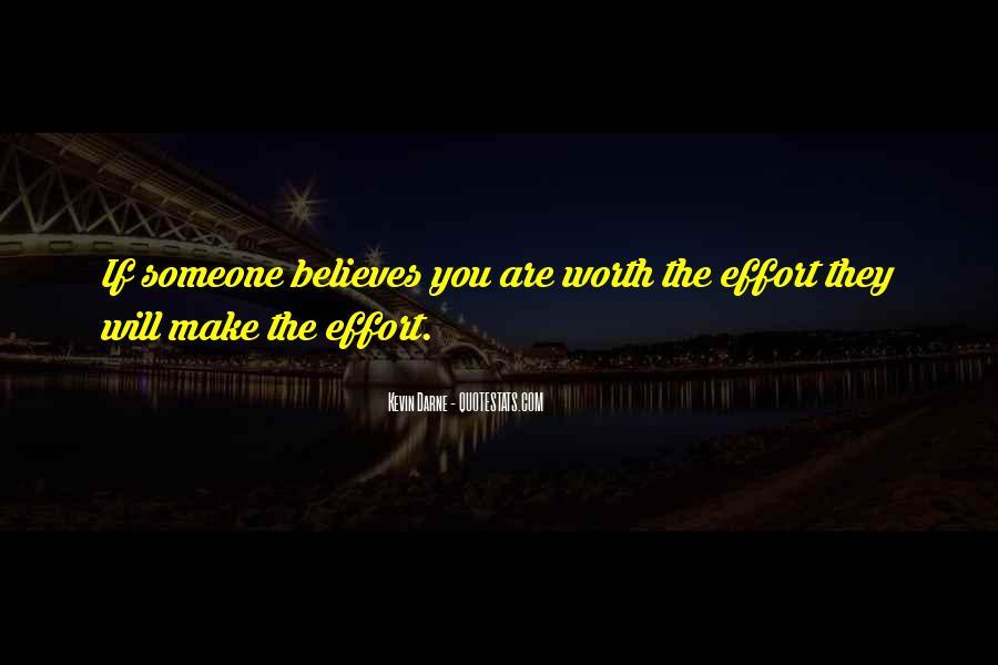 Someone Worth Quotes #154182