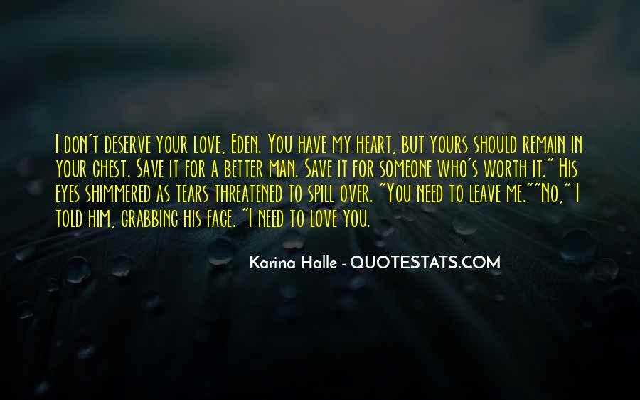 Someone Worth Quotes #231520