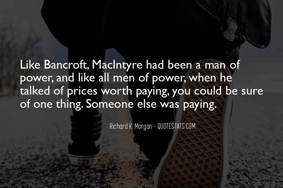 Someone Worth Quotes #28567