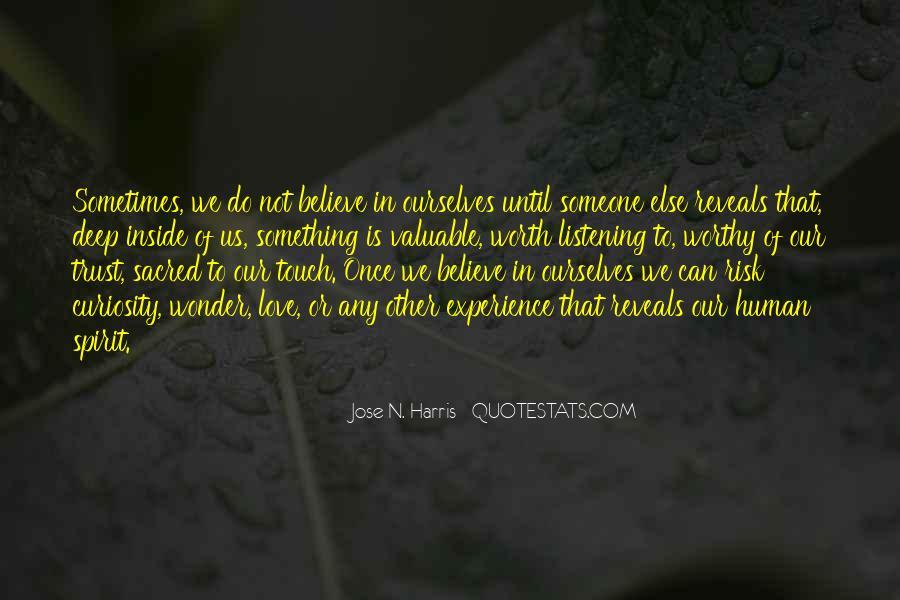 Someone Worth Quotes #287800