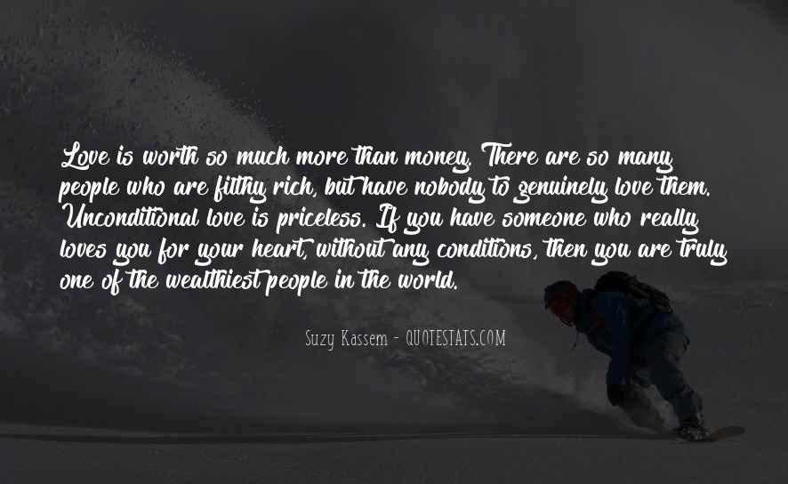 Someone Worth Quotes #554275