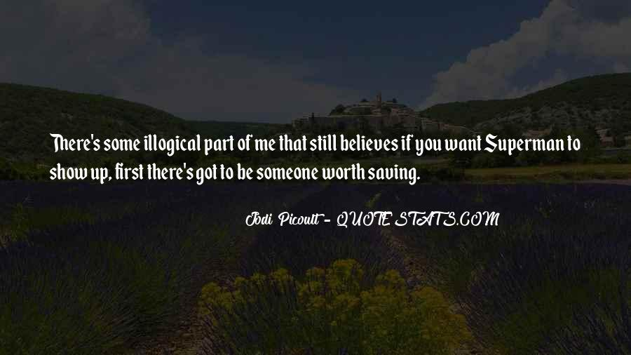 Someone Worth Quotes #61745