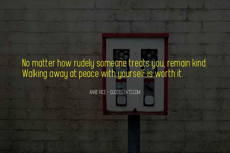 Someone Worth Quotes #99226