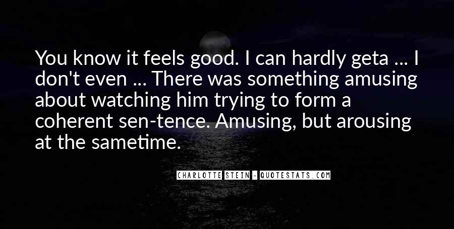Something About Him Quotes #147612
