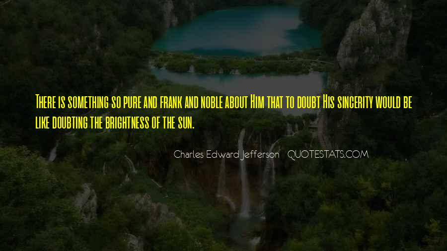 Something About Him Quotes #314081