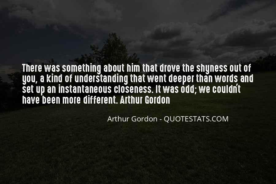 Something About Him Quotes #314340