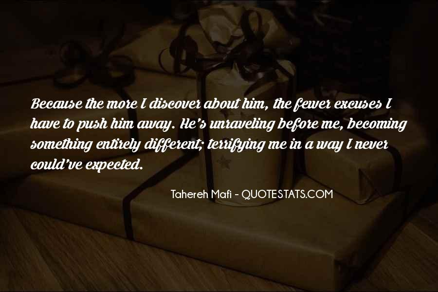 Something About Him Quotes #346556