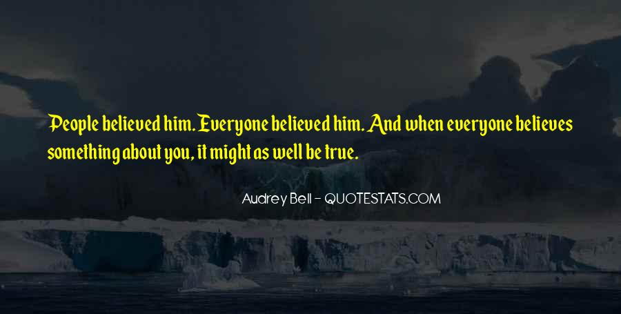 Something About Him Quotes #351877