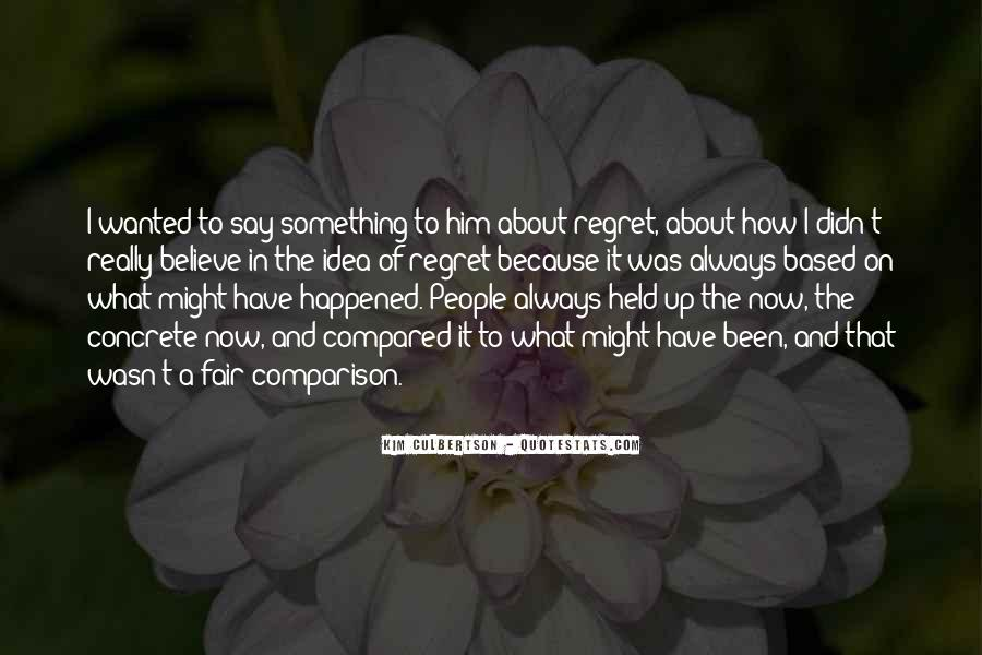 Something About Him Quotes #361658