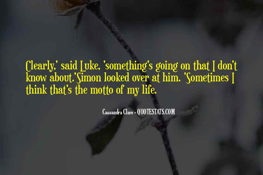 Something About Him Quotes #382759