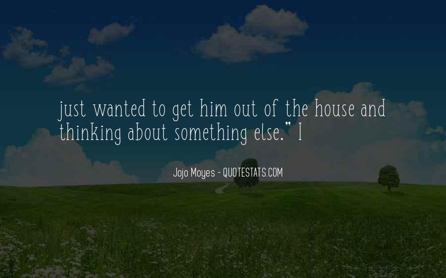 Something About Him Quotes #441828