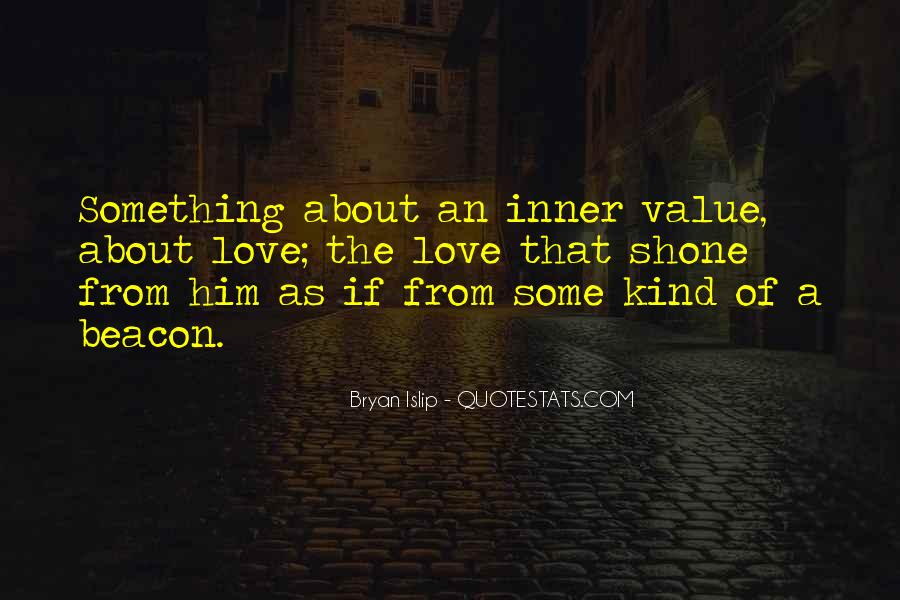 Something About Him Quotes #71465