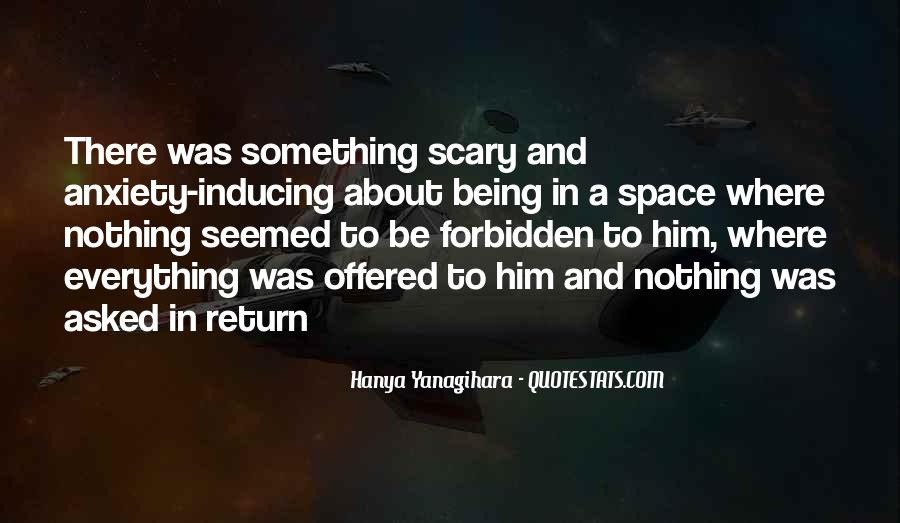 Something About Him Quotes #88752