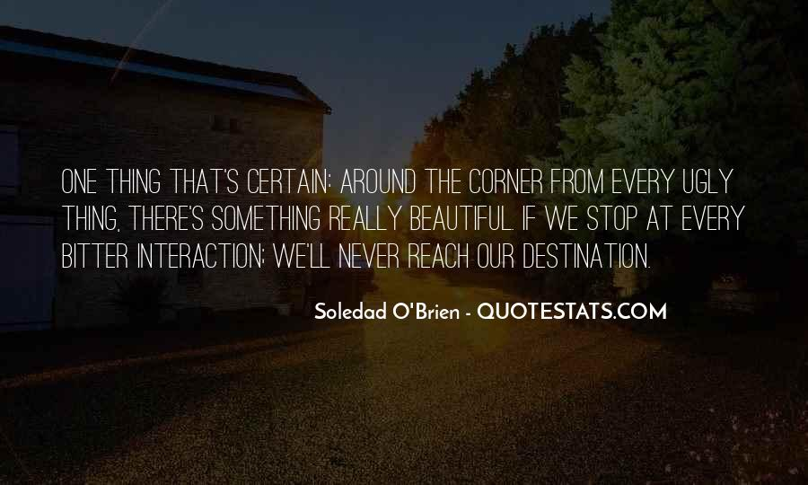 Something Around The Corner Quotes #1736841