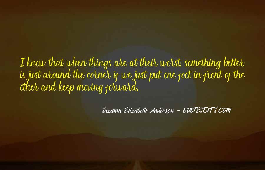 Something Around The Corner Quotes #173904