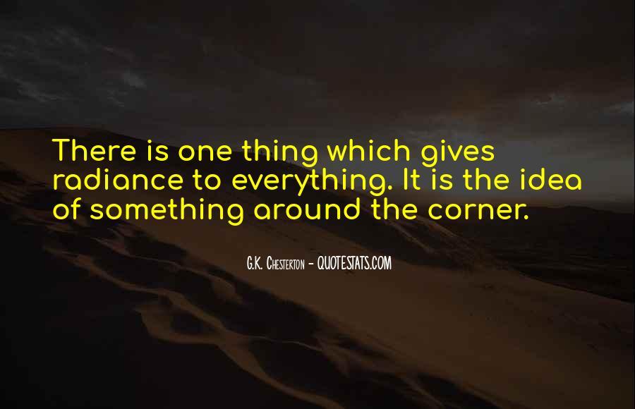 Something Around The Corner Quotes #269884