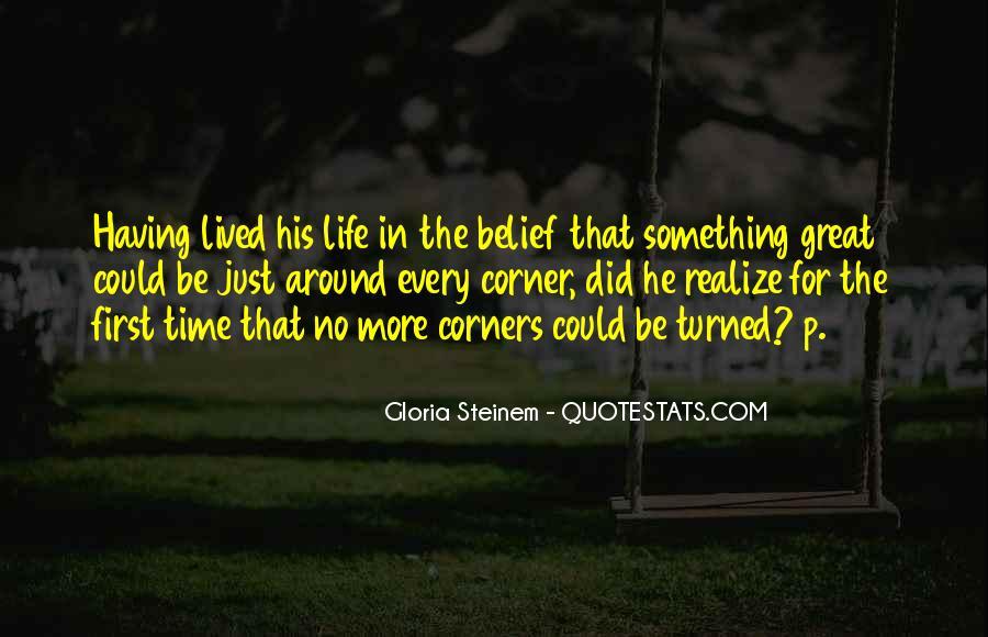 Something Around The Corner Quotes #330570