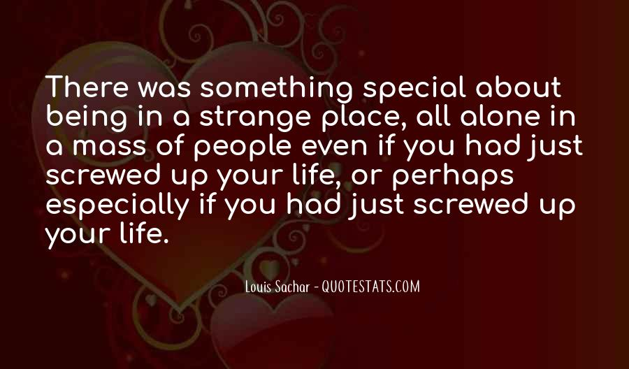 Something Special About You Quotes #1602801