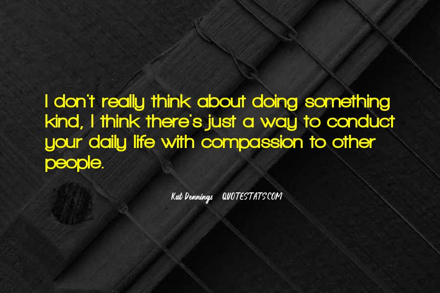 Something To Think About Life Quotes #1010497