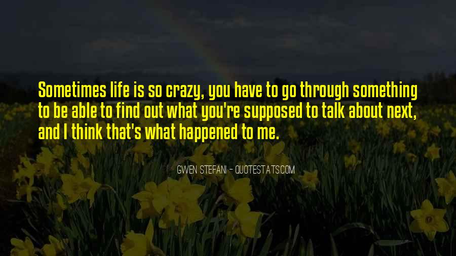 Something To Think About Life Quotes #1662675