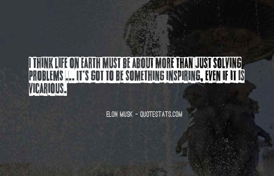 Something To Think About Life Quotes #1818260