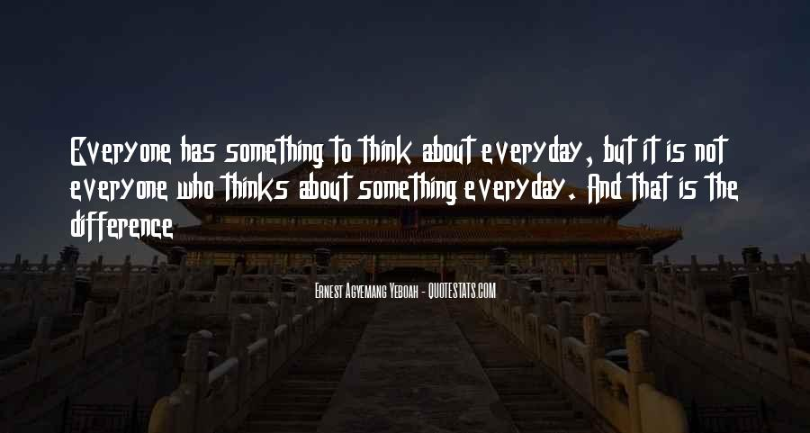 Something To Think About Life Quotes #1832092