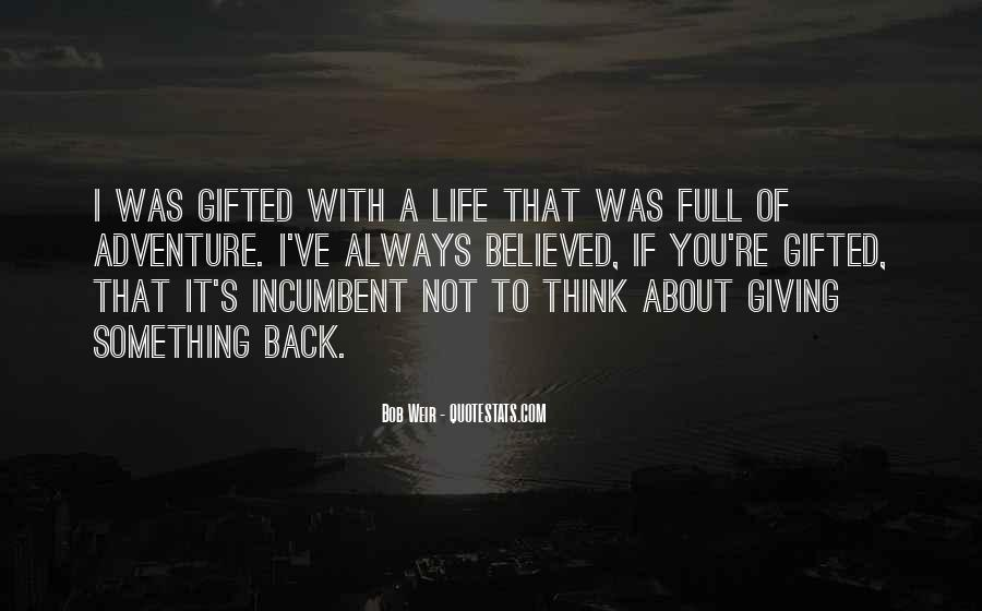 Something To Think About Life Quotes #345904