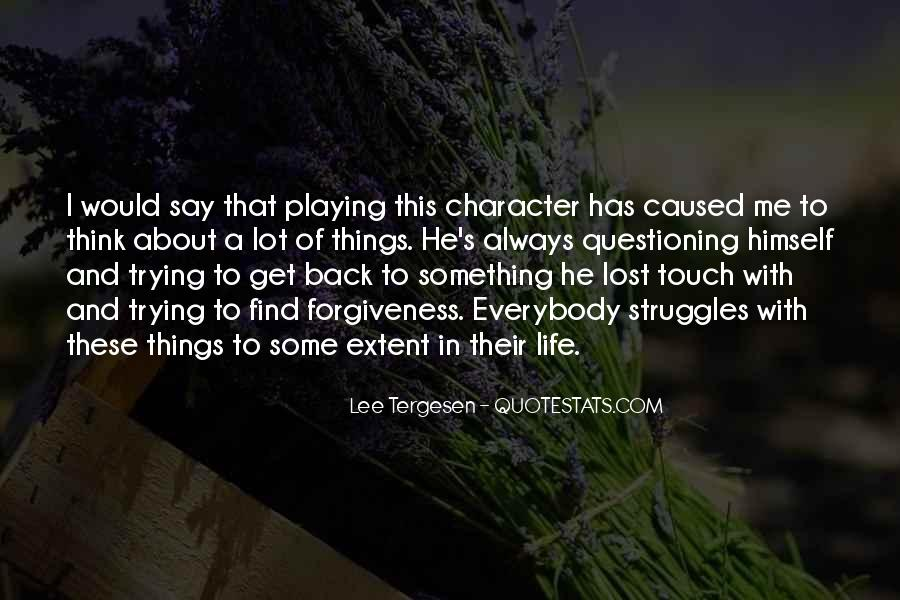 Something To Think About Life Quotes #696258